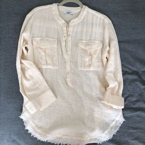 Tops - Carly Jean Los Angeles linen shirt